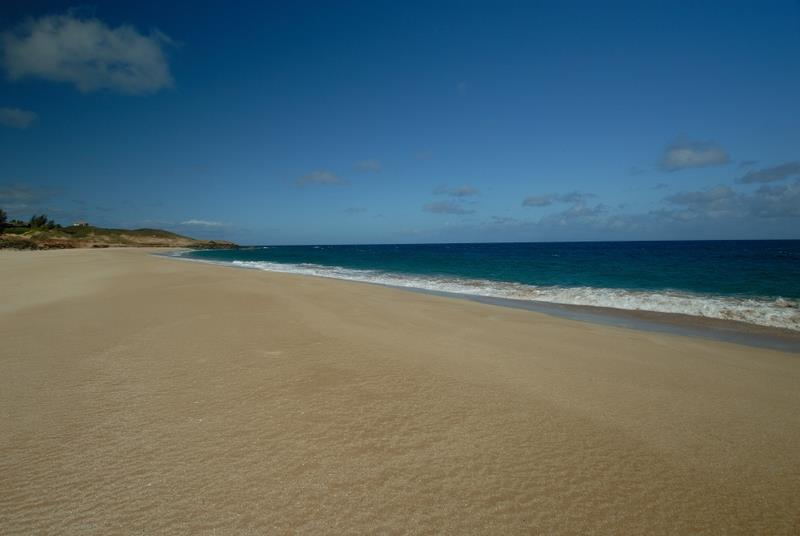Papohaku Beach facing South